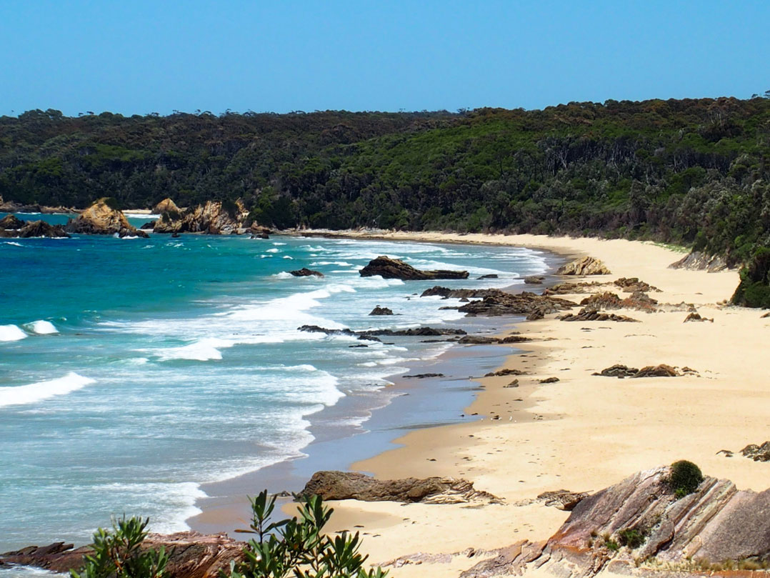 here are my favourite beaches in new south wales starting south of